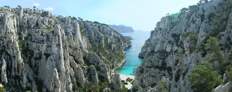 La randonnée dans les Calanques de Marseille Cassis avec MSL-Events
